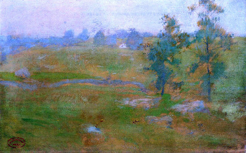 John Twachtman Summer Landscape - Hand Painted Oil Painting