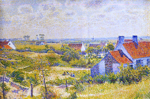 Theo Van Rysselberghe Summer Landscape of the Moor - Hand Painted Oil Painting