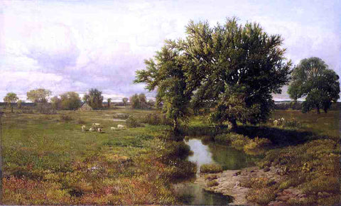 William Mason Brown Summer Pastures - Hand Painted Oil Painting