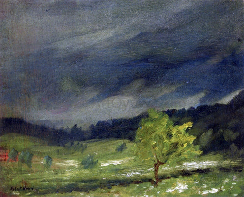 Robert Henri Summer Storm - Hand Painted Oil Painting