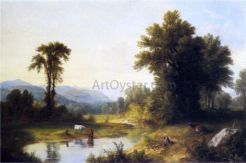 Asher Brown Durand Summer Stream - Hand Painted Oil Painting