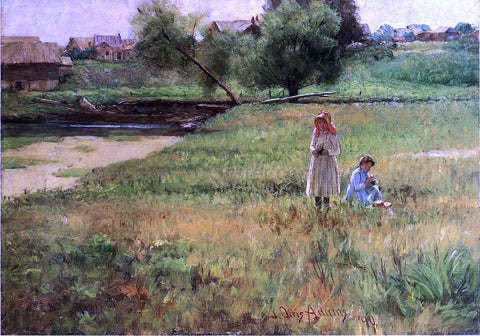 John Ottis Adams Summertime - Hand Painted Oil Painting