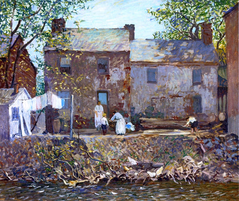 Robert Spencer Summertime - Hand Painted Oil Painting