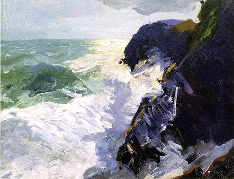 George Wesley Bellows Sun and Spray - Hand Painted Oil Painting