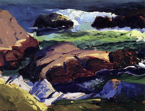 George Wesley Bellows Sun Glow - Hand Painted Oil Painting