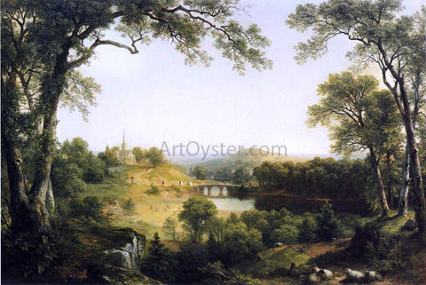 Asher Brown Durand Sunday Morning - Hand Painted Oil Painting