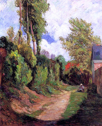 Paul Gauguin Sunken Lane - Hand Painted Oil Painting