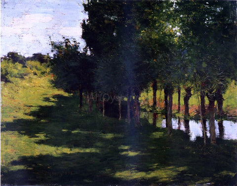 Willard Leroy Metcalf Sunlight and Shadow - Hand Painted Oil Painting
