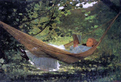 Winslow Homer Sunlight and Shadow - Hand Painted Oil Painting