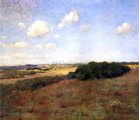William Merritt Chase Sunlight and Shadow, Shinnecock Hills - Hand Painted Oil Painting