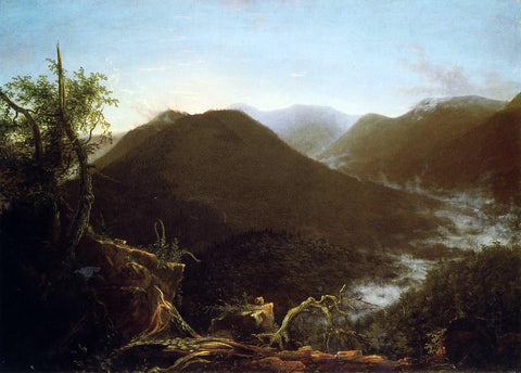 Thomas Cole Sunrise in the Catskill Mountains - Hand Painted Oil Painting
