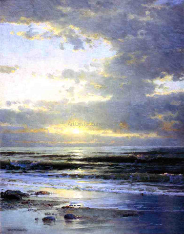 William Trost Richards Sunrise on the Beach - Hand Painted Oil Painting