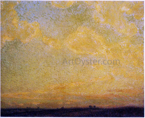 Henri Le Sidaner Sunset - Hand Painted Oil Painting