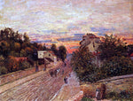 Alfred Sisley Sunset at Port-Marly - Hand Painted Oil Painting