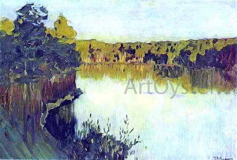 Isaac Ilich Levitan The Gully - Hand Painted Oil Painting