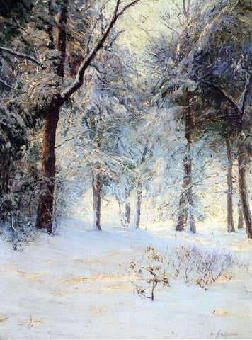 Walter Launt Palmer Sunshine After Snowstorm - Hand Painted Oil Painting