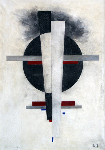 Kasimir Malevich Suprematic - Hand Painted Oil Painting