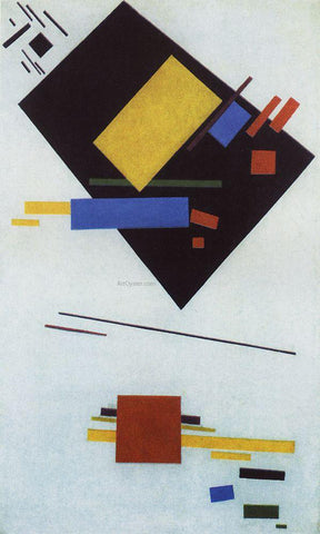 Kazimir Malevich Suprematism - Hand Painted Oil Painting