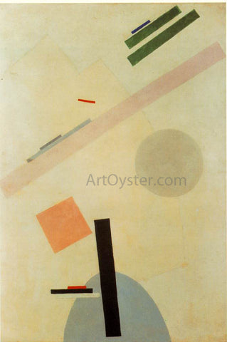 Kazimir Malevich Suprematist Painting - Hand Painted Oil Painting