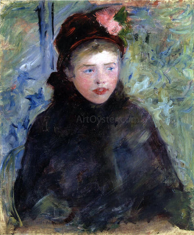 Mary Cassatt Susan in a Toque Trimmed with Two Roses - Hand Painted Oil Painting