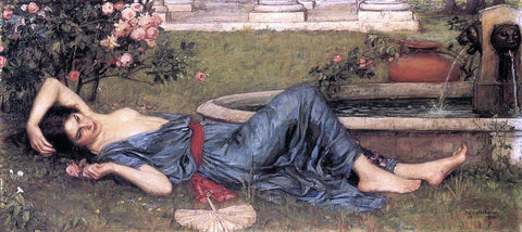 John William Waterhouse Sweet Summer - Hand Painted Oil Painting
