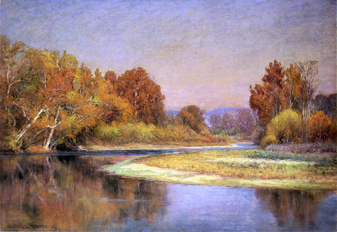 John Ottis Adams Sycamores on the Whitewater - Hand Painted Oil Painting