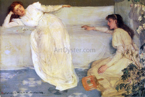 James McNeill Whistler Symphony in White, No. 3 - Hand Painted Oil Painting