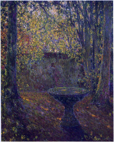 Henri Le Sidaner Table Among the Trees - Hand Painted Oil Painting