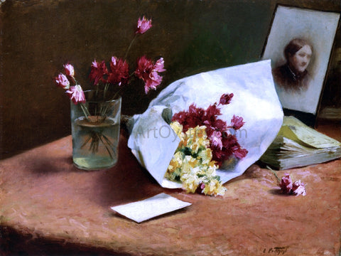 Edward Potthast Table Top Still Life - Hand Painted Oil Painting