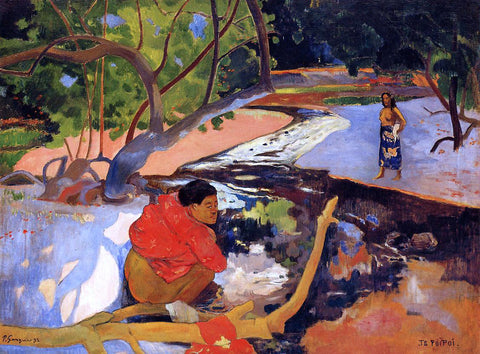 Paul Gauguin Te Poipoi - Hand Painted Oil Painting