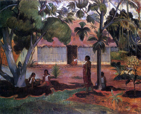 Paul Gauguin Te Ra'au Rahi (also known as The Large Tree) - Hand Painted Oil Painting