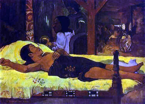 Paul Gauguin Te Tamari No Atua (also known as Nativity) - Hand Painted Oil Painting