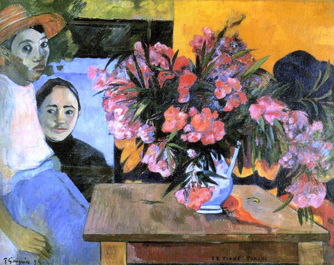 Paul Gauguin Flowers of France - Hand Painted Oil Painting