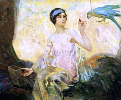 Robert Lewis Reid Tempting Sweets - Hand Painted Oil Painting