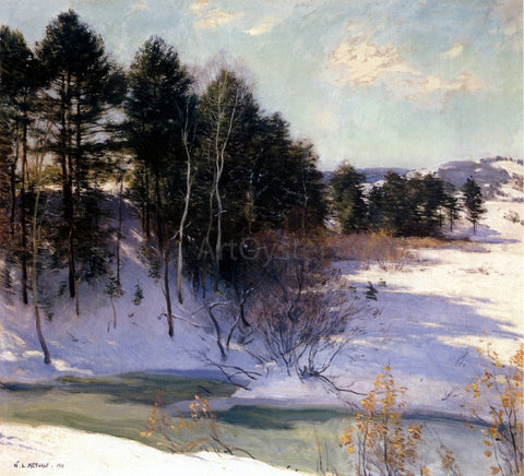 Willard Leroy Metcalf Thawing Brook - Hand Painted Oil Painting