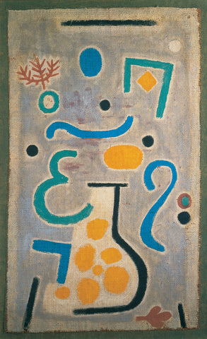 Paul Klee The Vase - Hand Painted Oil Painting
