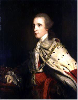 Sir Joshua Reynolds The 4th Duke of Queensbury ('Old Q') as Earl of March - Hand Painted Oil Painting