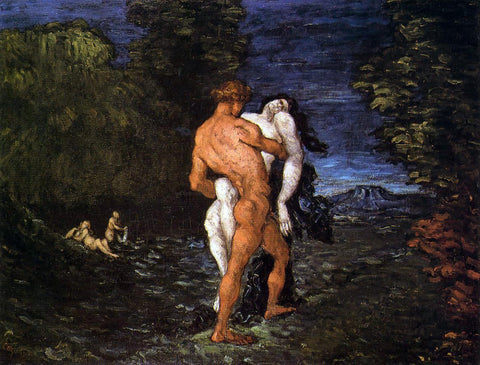 Paul Cezanne The Abduction - Hand Painted Oil Painting