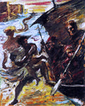 Lovis Corinth The Abduction - Hand Painted Oil Painting