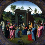 Bartolomeo Di Giovanni The Adoration of the Magi - Hand Painted Oil Painting