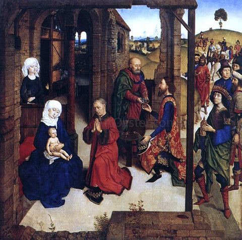 The Younger Dieric Bouts The Adoration of the Magi - Hand Painted Oil Painting