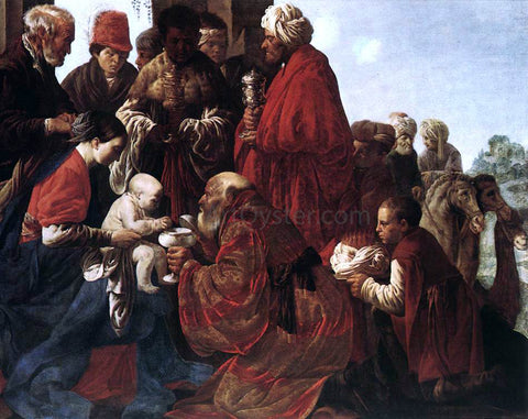 Hendrick Terbrugghen The Adoration of the Magi - Hand Painted Oil Painting