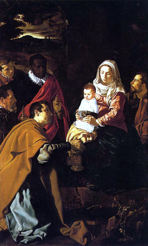 Joseph Koch The Adoration of the Magi - Hand Painted Oil Painting