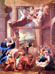 Nicolas Poussin The Adoration of the Shepherds - Hand Painted Oil Painting
