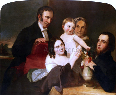 Thomas Sully The Alexander Family Group Portrait - Hand Painted Oil Painting