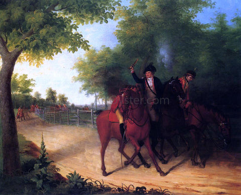 James Peale The Ambush of Captain Allan Mclane - Hand Painted Oil Painting