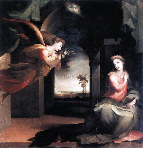 Domenico Beccafumi The Annunciation - Hand Painted Oil Painting