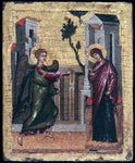 Unknown Painters Masters The Annunciation - Hand Painted Oil Painting