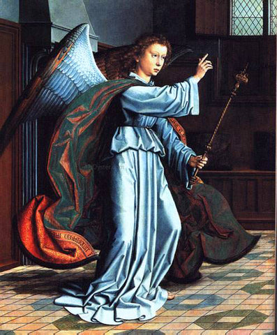 Gerard David The Annunciation - Hand Painted Oil Painting