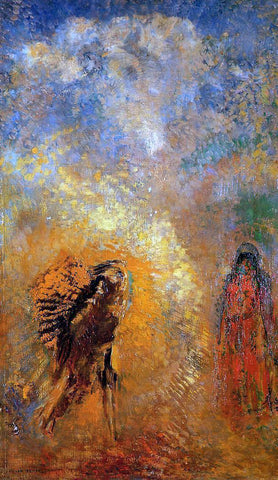 Odilon Redon The Apparition - Hand Painted Oil Painting